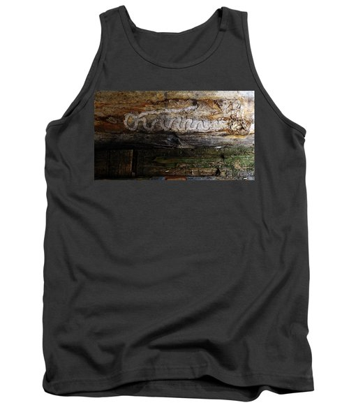 Autograph Of A Cold Blooded Killer Tank Top
