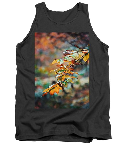 Tank Top featuring the photograph Autumn Aesthetics by Parker Cunningham