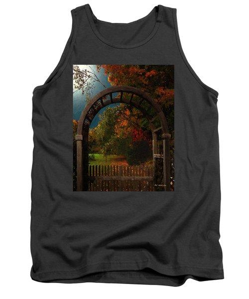 Autumn Archway Tank Top