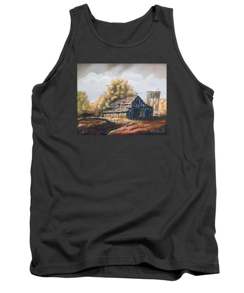 Autumn Barnyard Tank Top