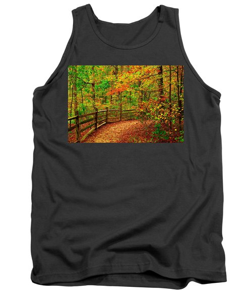 Autumn Bend - Allaire State Park Tank Top
