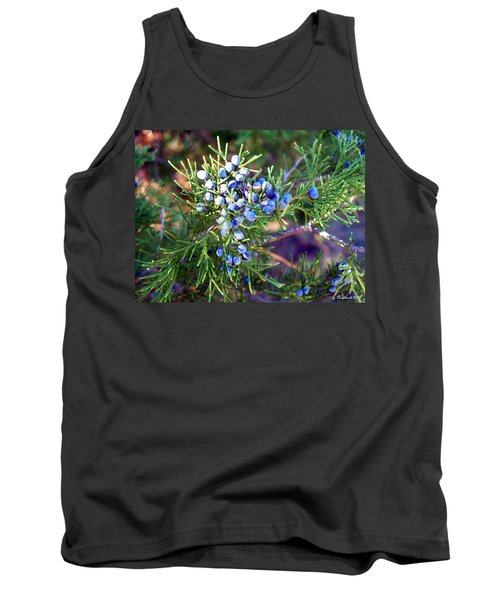 Tank Top featuring the photograph Autumn Berries by Betty Northcutt
