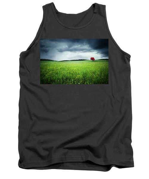 Tank Top featuring the photograph Autumn by Bess Hamiti