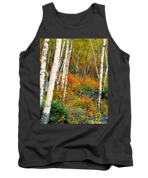 Autumn Birch Tank Top