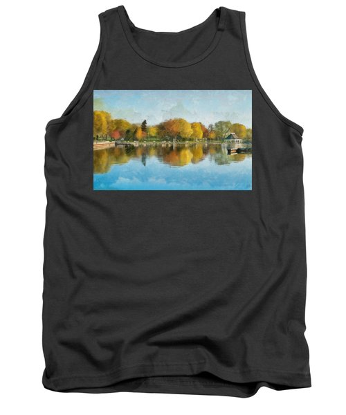 Autumn Blues Tank Top
