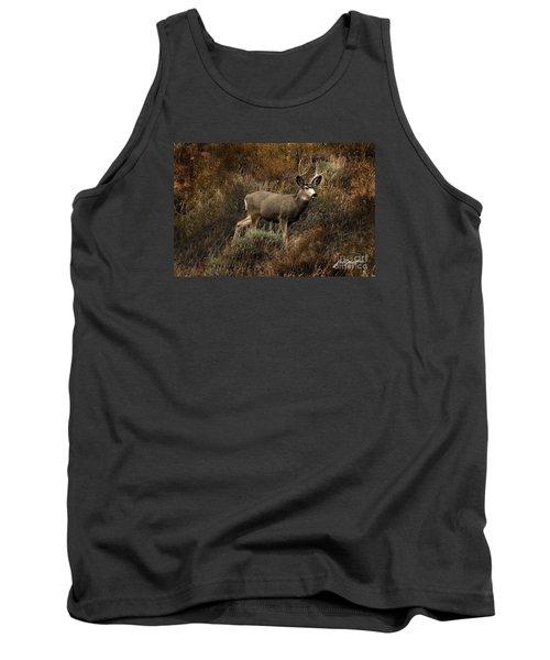 Autumn Buck Tank Top