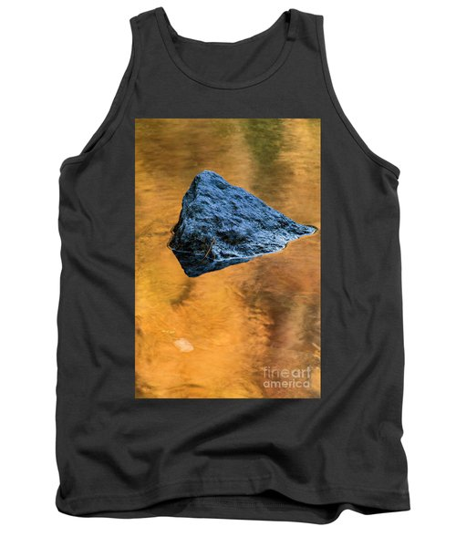 Tank Top featuring the photograph Autumn Color On Little River - D009990 by Daniel Dempster