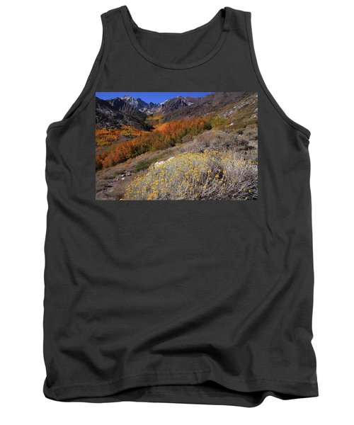 Autumn Colors At Mcgee Creek Canyon In The Eastern Sierras Tank Top