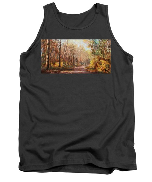 Autumn Colors Tank Top by Bonnie Mason