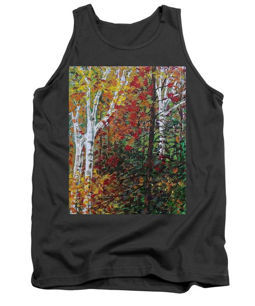 Autumn Colors Tank Top by Mike Caitham