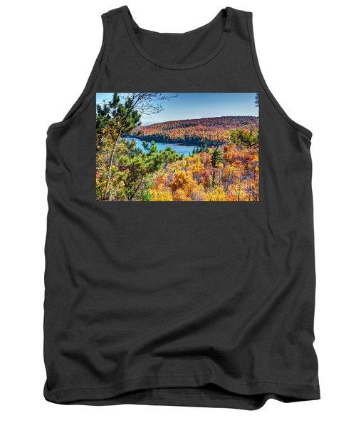 Autumn Colors Overlooking Lax Lake Tettegouche State Park II Tank Top