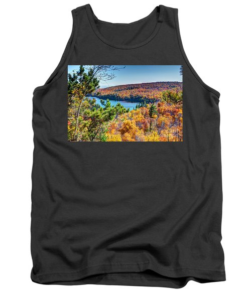 Autumn Colors Overlooking Lax Lake Tettegouche State Park II Tank Top