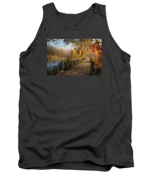 Autumn Emerging Tank Top by Rob Blair