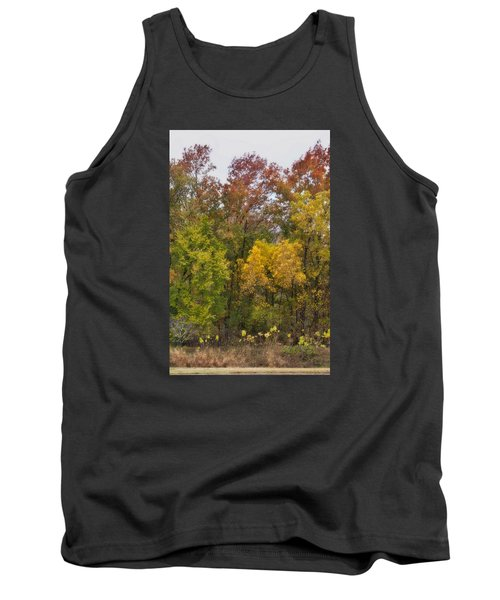 Tank Top featuring the photograph Autumn Explosion by Joan Bertucci