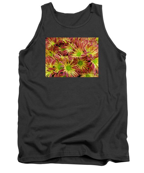 Tank Top featuring the photograph Autumn Flowers by Lyric Lucas