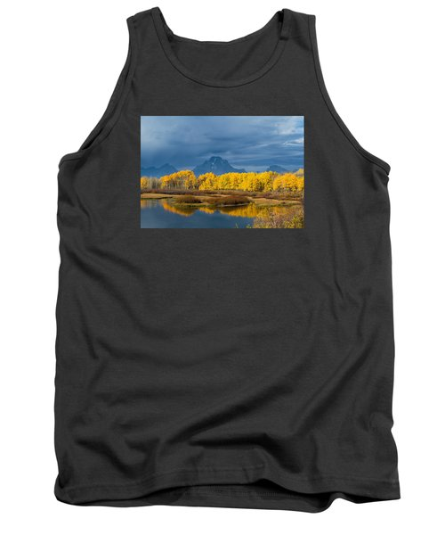 Autumn Flowers Tank Top