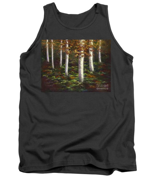 Tank Top featuring the digital art Autumn Ghosts by Amyla Silverflame