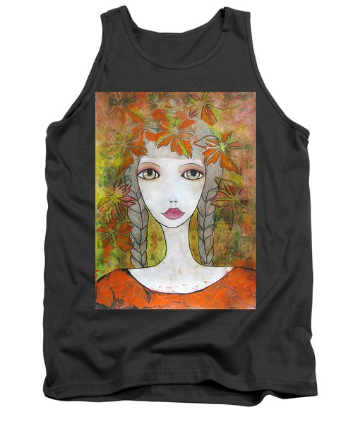 Autumn Girl  Tank Top