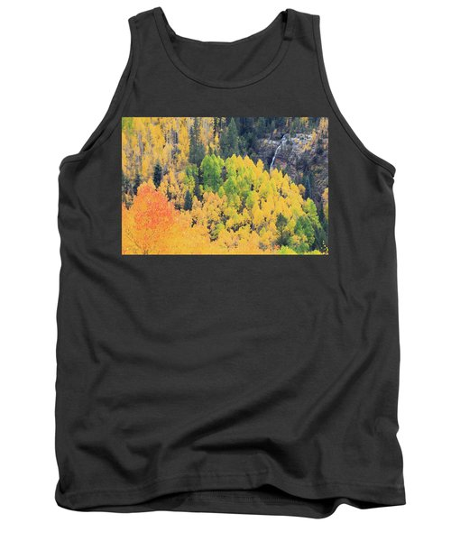 Tank Top featuring the photograph Autumn Glory by David Chandler