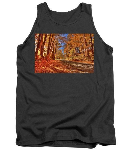 Autumn Glow Tank Top