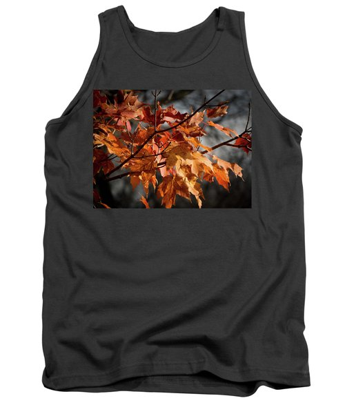 Autumn Gray Tank Top