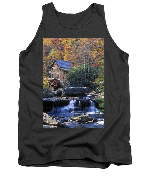 Autumn Grist Mill - Fs000141 Tank Top