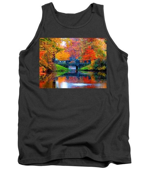 Autumn In Boston Tank Top