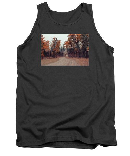 Autumn In Montana Tank Top by Cathy Anderson