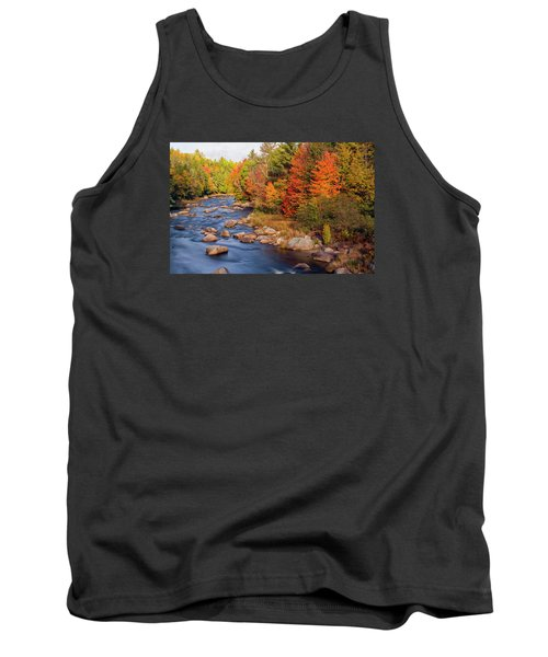 Autumn In New Hampshire Tank Top by Betty Denise