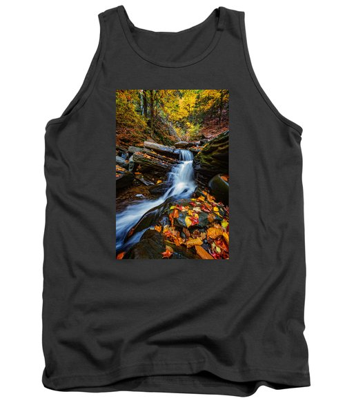 Autumn In The Catskills Tank Top by Rick Berk