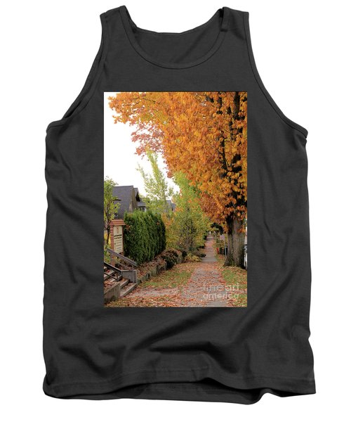 Autumn In The City Tank Top