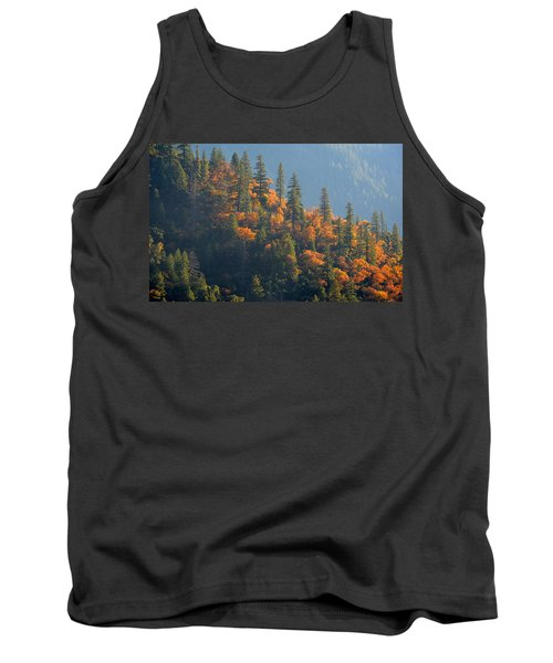 Autumn In The Feather River Canyon Tank Top by AJ Schibig