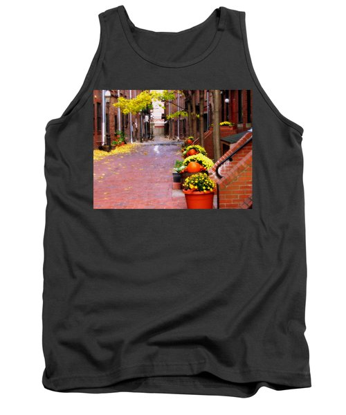 Tank Top featuring the photograph Autumn In The North End by Bruce Carpenter