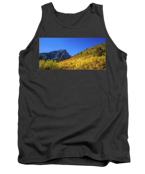Autumn In The Rockies Tank Top