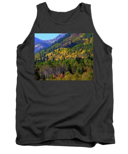 Autumn In Utah Tank Top
