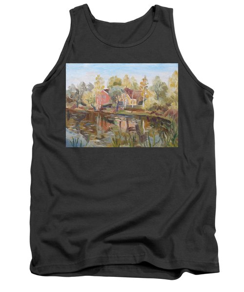 Autumn Lake Tank Top