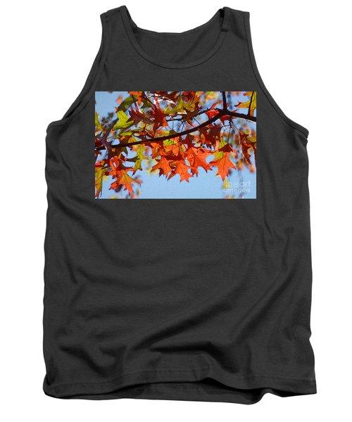 Autumn Leaves 16 Tank Top by Jean Bernard Roussilhe
