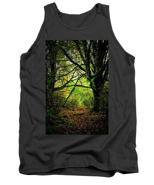 Tank Top featuring the photograph Autumn Light by David Patterson