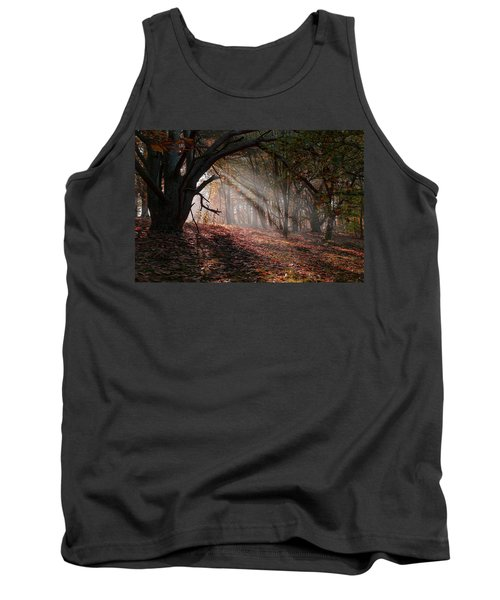 Tank Top featuring the photograph Autumn Light  by Scott Carruthers