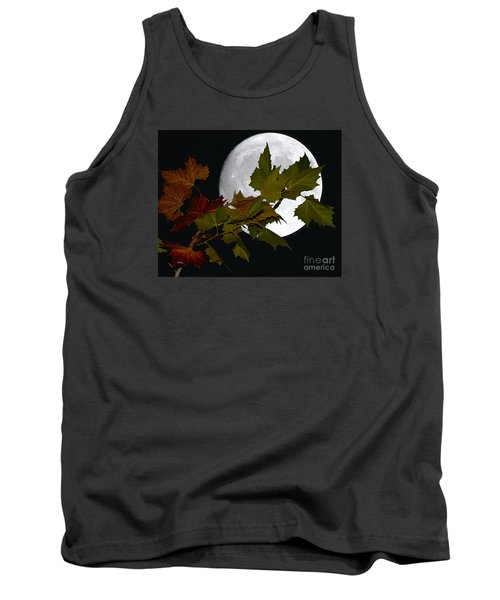 Autumn Moon Tank Top by Patrick Witz