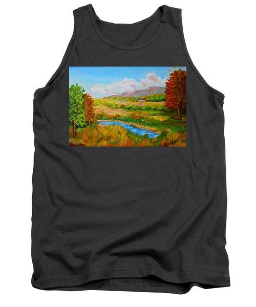 Autumn Nature Tank Top