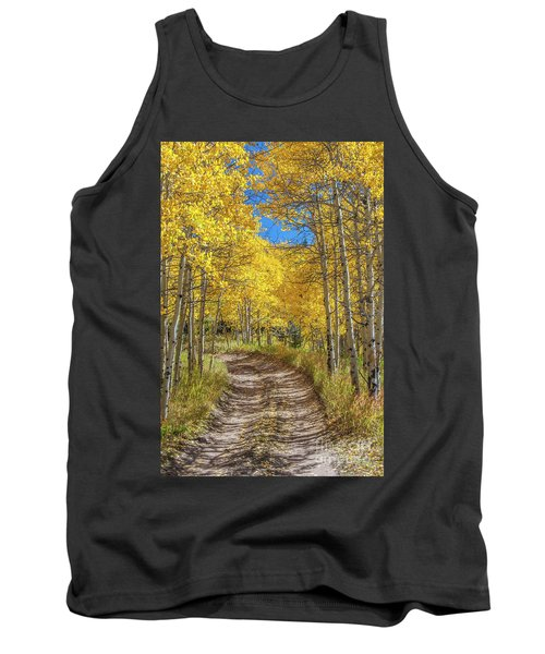 Autumn On Medano Pass Tank Top