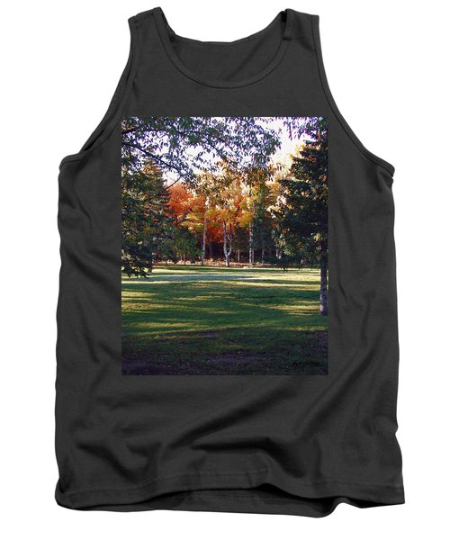 Autumn Park Tank Top