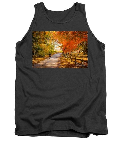 Autumn Path Tank Top