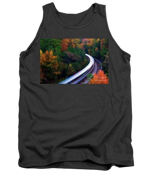 Autumn Rails Tank Top