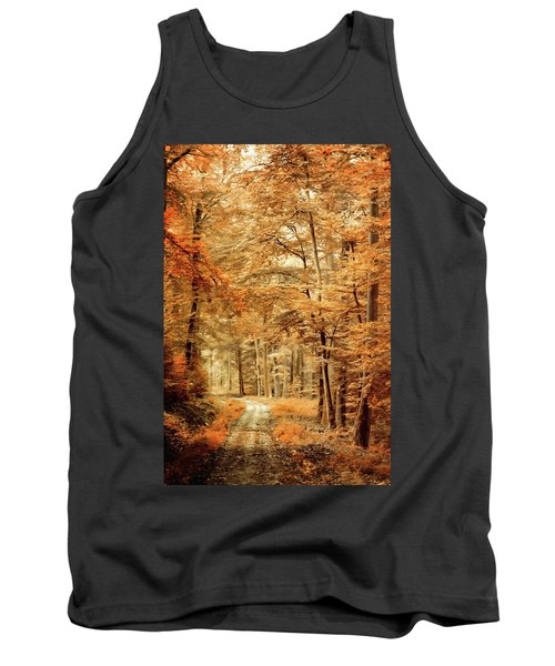 Autumn Secret Tank Top