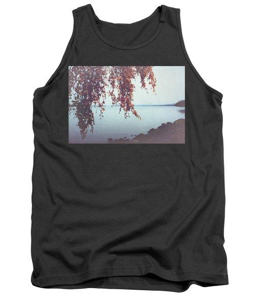 Tank Top featuring the photograph Autumn Shore by Ari Salmela