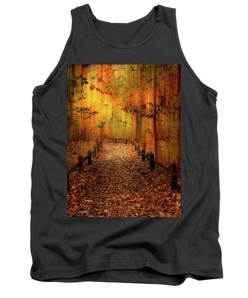 Autumn Silkscreen Tank Top