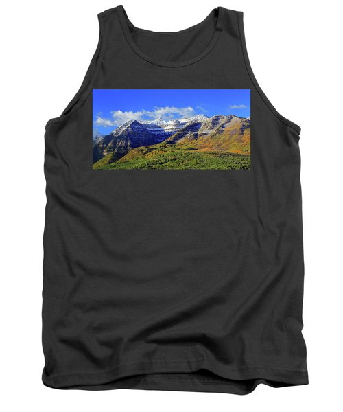 Autumn Snow On Timp Tank Top