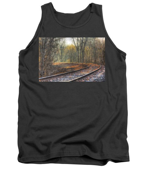 Autumn Tracks Tank Top